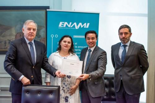 Modelo de prevención del delito de ENAMI recibe certificación Feller Rate
