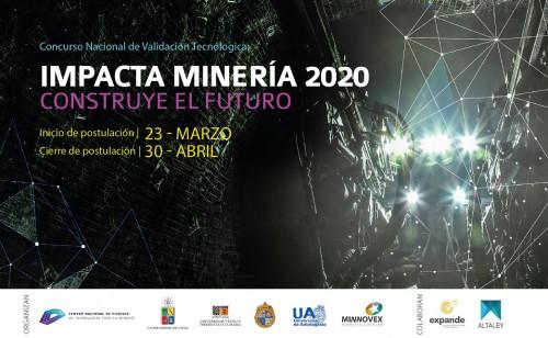 CNP lanza concurso Impacta Minería 2020 para pilotar nuevas tecnologías