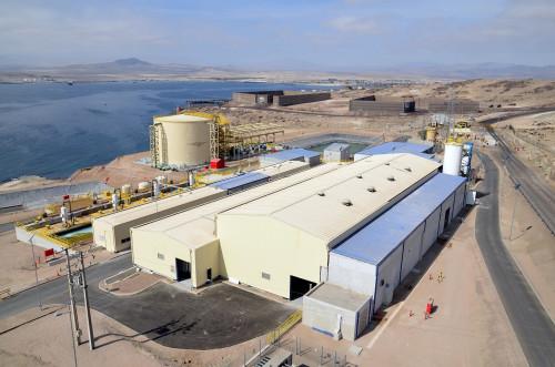 Minera Candelaria utiliza un 100% de agua de mar desalinizada en su proceso productivo