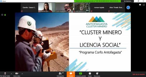 Clúster Minero participa en webinar organizado Cámara de Comercio Peruana – Chilena