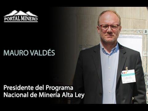 Entrevista de la Semana: Mauro Valdés, Presidente del Programa Nacional de Minería Alta Ley