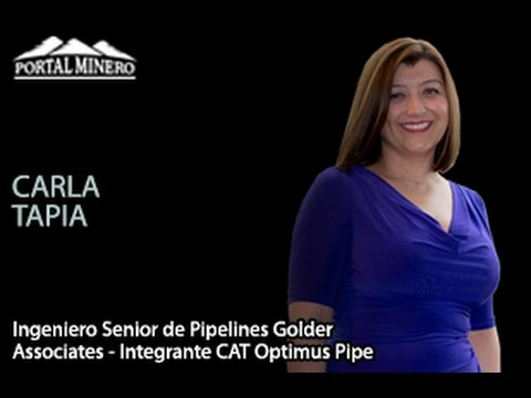 Entrevista de la Semana: Carla Tapia, Ingeniero Senior de Pipelines Golder Associates – Integrante C