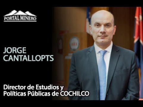 Jorge Cantallopts, Director de Estudios y Políticas Públicas de COCHILCO
