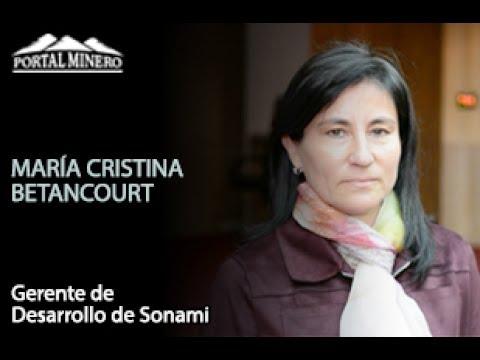 María Cristina Betancourt, Gerente de Desarrollo de Sonami
