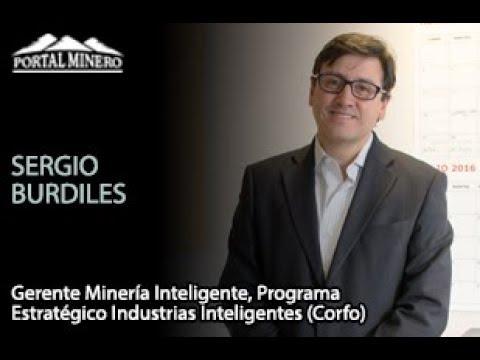 Sergio Burdiles, Gerente Minería Inteligente, Programa Estratégico Industrias Inteligentes (Corfo)