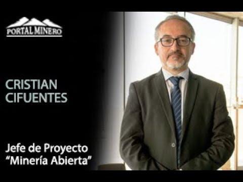 """Cristian Cifuentes – Jefe de Proyecto """"Minería Abierta"""""""