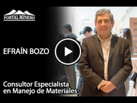 Efraín Bozo – Consultor Especialista en Manejo de Materiales, Castro Ingeniería