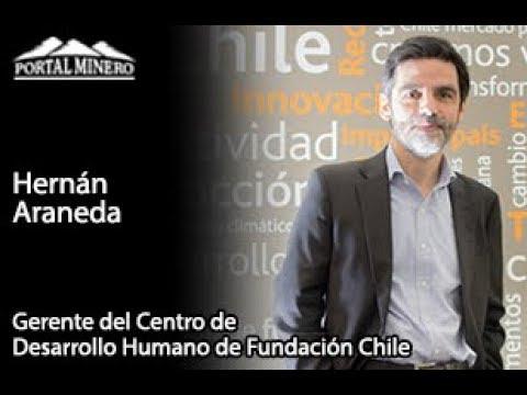 Hernán Araneda, Gerente del Centro de Desarrollo Humano de Fundación Chile