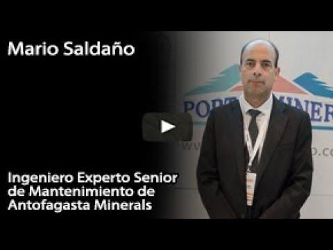 Mario Saldaño – Ingeniero Experto Senior de Mantenimiento de Antofagasta Minerals