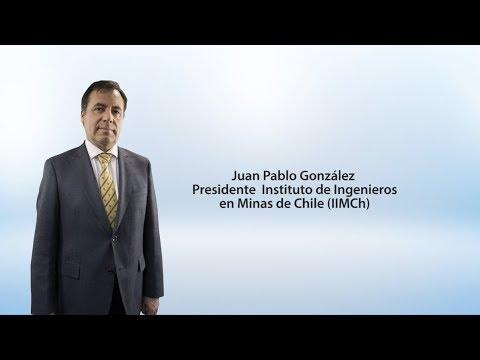 Juan Pablo González – Presidente del Instituto de Ingenieros de Minas de Chile (IIMCh)